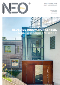 Neobuild Innovation Center, Living Lab unique en Europe
